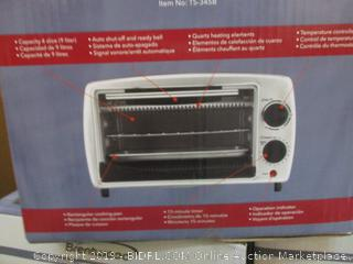 Brentwood 800W Toaster Oven