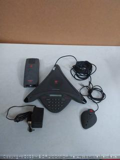 Professionally Refurbished Avaya Polygon soundstation premier Conference Phone (online $249)