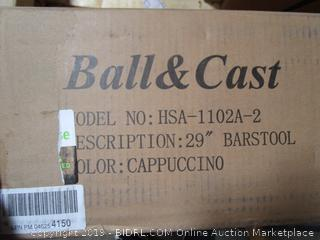 ball And Cast Barstool Chair