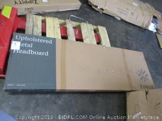 Upholstered Metal Headboard  (Incomplete)