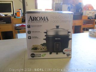 Aroma Rice Cooker & Food Steamer