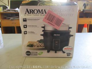 Aroma Rice Cooker & Food Steamer (Please Preview)