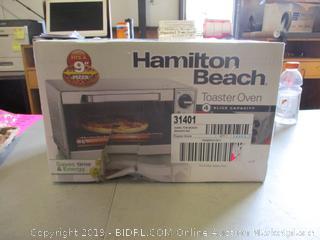 Hamilton Beach Toaster Oven (Sealed) (Please Preview)