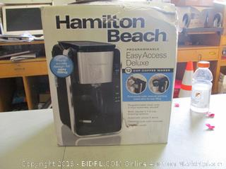 Hamilton Beach Coffee Maker (Box Damaged) (Please Preview)
