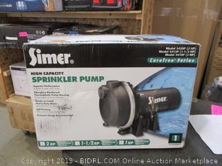 High Capacity Sprinkler Pump