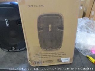 Bluetooth Loudspeaker PA Cabinet Speaker System