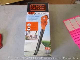 Black + Decker Cordless Hard Surface Sweeper