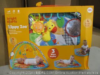 Bright Starts Zippy Zoo Activity Gym