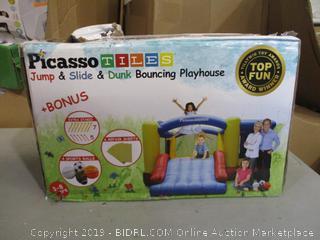 Jump, Slide, Dunk Bouncing Playhouse