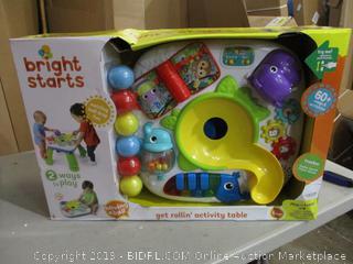 Bright Start Activity Table