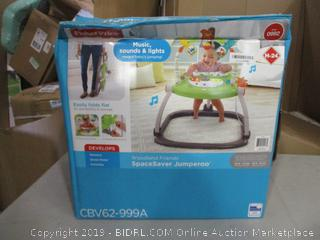 Fisher Price SpaceSaver Jumparoo (Box Damaged) (Please Preview)