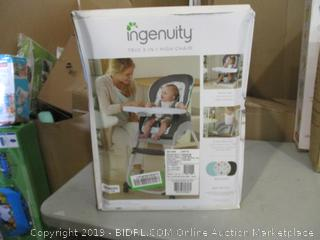 Ingenuity 3-in-1 High Chair (Box Damaged) (Please Preview)