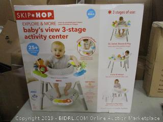 Skip Hop Baby's View 3-Stage Activity Center (Please Preview)