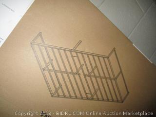vecelo queen bed frame - box damage