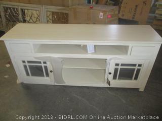 cabinet furniture item/TV center -- damaged (broken leg)