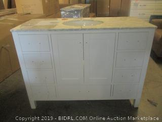 bathroom cabinet and counter furniture