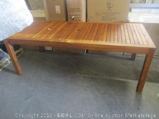 patio table - please preview