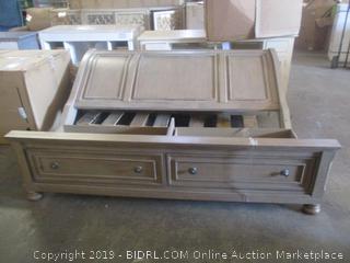 homelegance furniture item - incomplete, missing rails