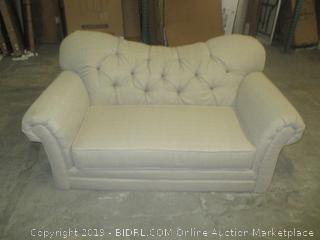 loveseat/oversize chair - no feet