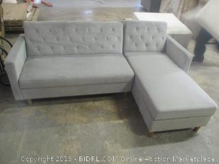 sectional sofa - dirty