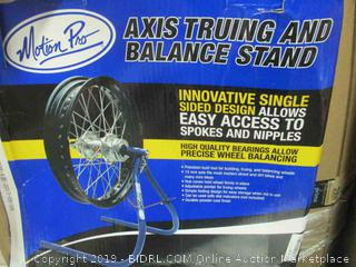 Axis Truing and Balance Stand