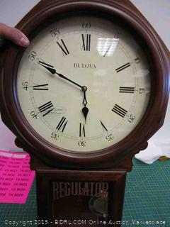 Bulova Wall Clock In Box
