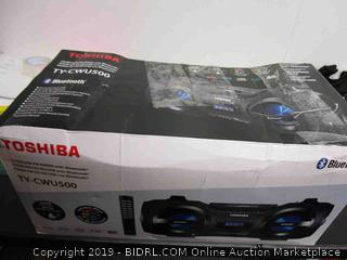 Toshiba CD/SD/USB Player  FM Stereo Radio with Bluetooth Function Powers On See Pictures
