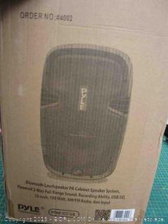 Bluetooth Loudspeaker