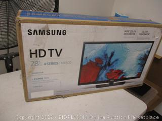 "Samsung HDTV 28"" Screen"