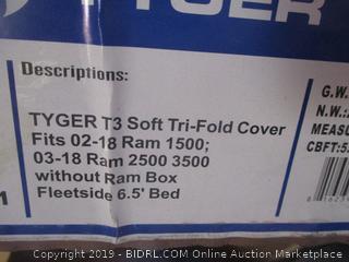 Tyger T3 Soft Tri-Fold Cover