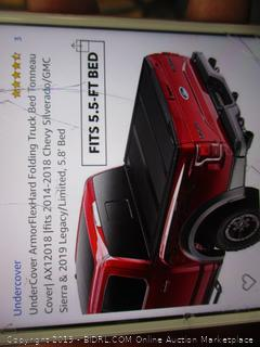Undercover Armor Hard Folding Truck Bed