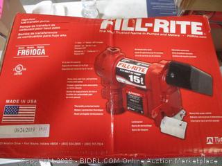Fill Rite High Flow Fuel Transfer Pump