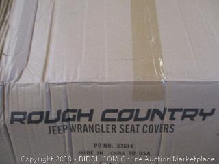 Rough Country Seat Covers for Jeep Wrangler