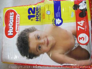 Huggies Snug and Dry Diapers Size 3