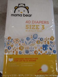 Mama Bear Diapers Size 3