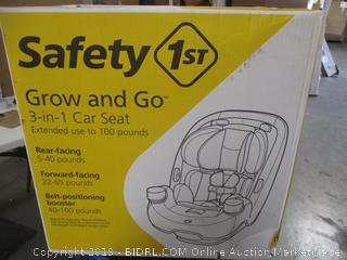 Safety 1st Grow and Go 3 in 1 Car Seat
