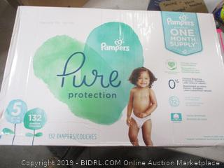 Pampers Pure Protection Diapers Size 5