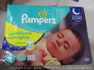 Pampers Swaddlers Diapers Size 4