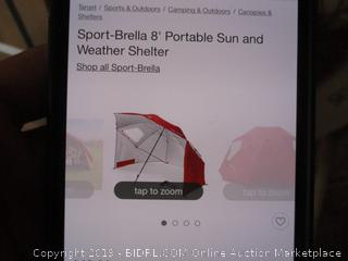 Sport Brella Portable Sun Weather Shelter