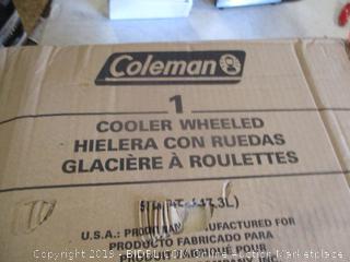 Coleman Cooler Wheeled