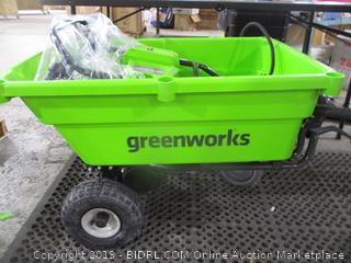 Greenworks Self Propelled Wheelbarrow