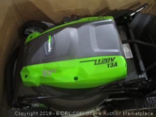 Greenworks 120V 13A