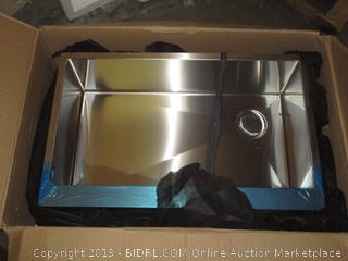 Kraus Stainless Steel Farmhouse Kitchen Sink