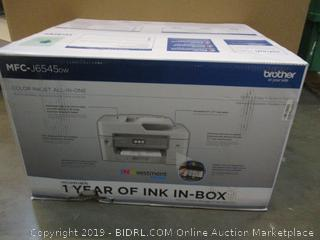 Brother Color Inkjet All In One Printer