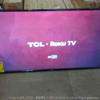 """TCL Roku TV 4K HDR Smart TV 55"""" See Pictures"""