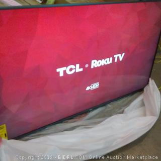 """TCL 4K HDR Smart TV 65"""" box damage see pictures"""