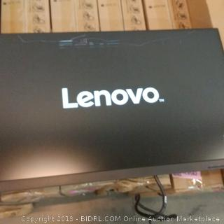 Lenovo Monitor Cracked Screen See Pictures