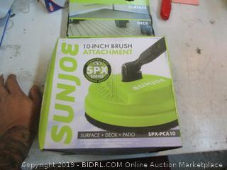 Sunjoe 10 inch Brush Attachment