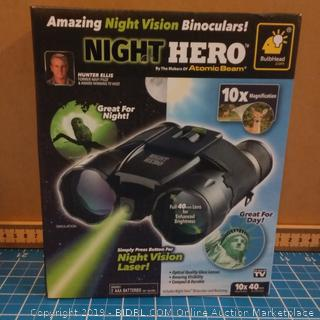 Amazing Night Vision Binocular Night Hero