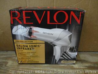 Revlon Salon Ionic Hair Dryer box damage